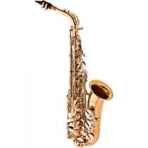 Saxofone Alto Eagle Sa-500 Ln Laqueado Niquelado - Refinado