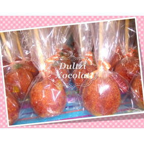 Manzanas Chocolate O Chile Recuerdos Mesa De Dulces Fiestas
