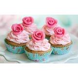 Aprenda Como Hacer Cupcakes Ponquesitos Decoración Relleno