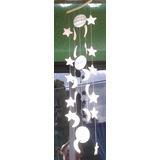 Móvil Decorativo De Estrellas,lunas,soles Hecho En Cerámica
