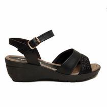 Sandalias Negro Piccadilly Confort Acolchadas Muy Comodas