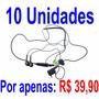 Lote 10 Fone De Ouvido Sony Ericsson Hpm-70 Stereo A0611