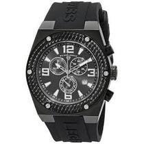 Reloj Swiss Legend Throttle 30025-bb-01-sa Para Hombre Negro