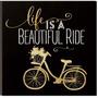 La Vida Es Un Hermoso Paseo De Bicicletas De + Envio Gratis