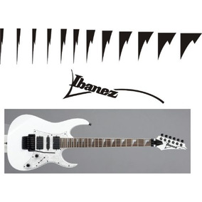 Stickers Vinil Inlay Guitarra Electrica Ibanez Shark Tooth *