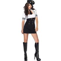 ° Leg Avenue - Sensual Disfraz Capitána De Avión Mod.83839