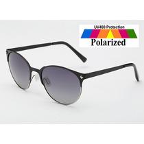 Óculos De Sol Polarizado Olho De Gato Feminino