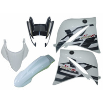 Kit Carenagem Xt660 Branca 2015 2016 2017 Compl. Speed China