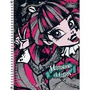 Caderno 10 Matérias Monster High Tilibra