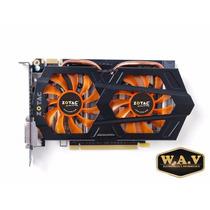 Placa De Vídeo Vga Zotac Geforce Gtx660 2gb Ddr5 192-bit Pci