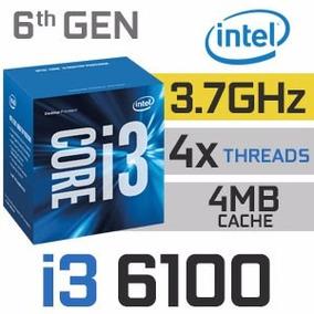Kit Intel Sexta Geração As Rock H110mdgs I3 6100 8gb Hyper-x