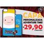Capinha Celular Adventure Time Galaxy S3 S4 S5 S6 S7 Mini