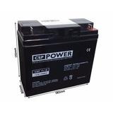 Bateria Selada Csp Power12v 18ah Jet Sky Ultra Leve No Break