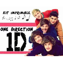 Kit Imprimible Para Tu Fiesta De One Direction 1d