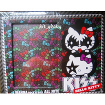 Hello Kitty,portaretrato Kiss, Original De Sanrio