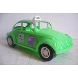 Taxi Ecologico Vw Beetle Volkswagen - Juguete Antiguo