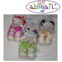 Botitas Escarpines Tejidos A Crochet Para Recien Nacido