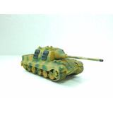 34 Blindado Tanque Militar Camuflado Ho 1/87