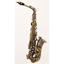 Saxofone Alto Envelhecido Hoyden Has-25 En C/case - Hendrix