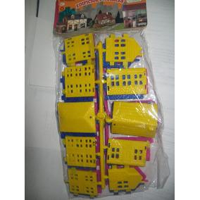 Gcg Lote De 3 Casas Armables Retro Rompecabezas