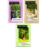 Jane Austen Lote X 3 Libros Persuasión Orgullo Y Prejuicio