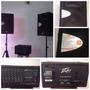 Sonido Basico Completo, Planta Peavey Xr600g + 2cornetas Jbl