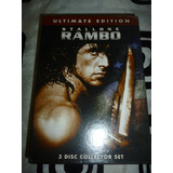 Rambo Trilogy Ultimate Edition Dvds 3 Discos Zona 1