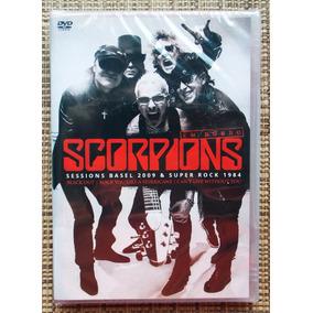 Dvd Scorpions / Session Basel 2009 E Super Rock 1984 Raro