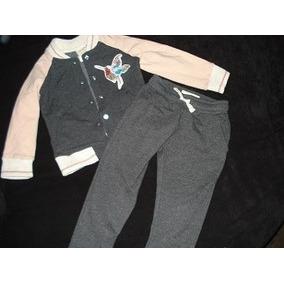 Conjunto Zara Niña 4 Años Chaqueta Bomber Mas Pantalon