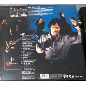 Ld -laserdisc David Byrne Talking Heads Lacrado Novo Raro