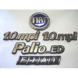 Kit Emblemas Palio Ed + 2x 1.0 Mpi + Capo E Mala 96/99