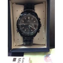 Relógio Casio Edifice Ef535bk-1avdf Rbull Sebastian Vettel