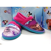 Pantuflas Frozen Licencia Original Mundo Moda Kids