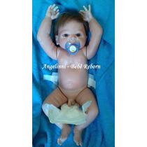 Bebê Reborn Gabriel Olhos Azuis Encomenda - Envio Dia 29/06