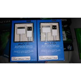 Cable Para P/iphone/ipod/ipad Blanco Marca Auvio