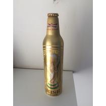 Garrafa De Alumínio Budweiser Dourada - Edição Especial