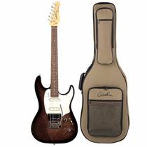 Guitarra Godin Session Rosewood Fd Black 34048 Com Bag
