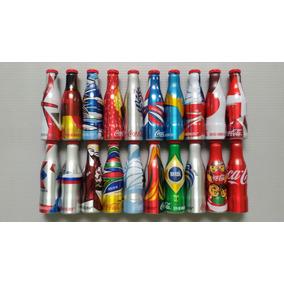 Mini Garrafinhas Coca-cola Da Copa Do Mundo Brasil Fifa 2014