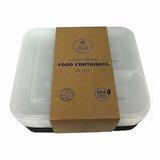 Pack 10 Contenedores Comida 3 Compartimentos / El Container