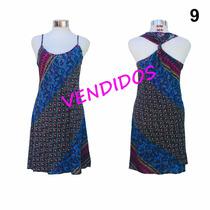 Vestido Indú Estampado Nuevo Informal - Importado