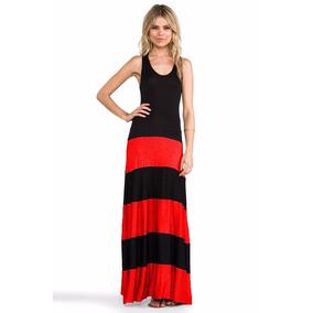 Vestido Feminino Longo Cores Variadas, Tecido Viscolycra