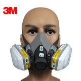 Respirador Mascara Semi-facial 3m 6200 + 2 Cartuchos