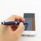 Pluma Stylus P Celular Touch 4 En 1 Laser Lampara - Te398
