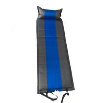 Colchoneta Autoinflable Con Almohada Camping. Se Puede Unir