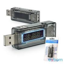 Testador Usb E Medidor De Voltagem E Amperagem Para Porta Us