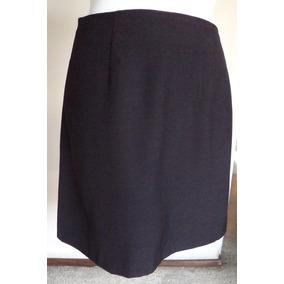 Talla-s Falda Negra De Corte Clásico Linea A-! Fch176
