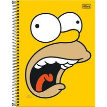 Caderno 16 Materias Simpsons 320 Fls Tilibra