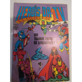 Herois Da Tv - Editora Abril - Nº 103 Cx02