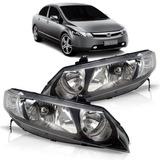 Par Farol New Civic Honda 2006 2007 2008 2009 2010 2011