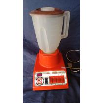 Liquidificador Vermelho Britânia 110w Funcionando